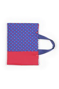 sac artiste feuille bleu (3)