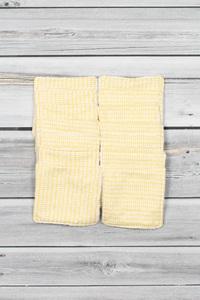 lingettes démaquillantes pois jaune (2)