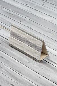 porte carte de jeux beige gris (5)