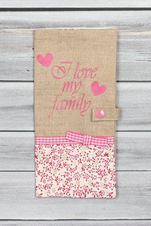protège livret de famille ''I love my family'' (1)
