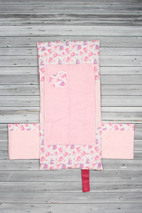 tapis à langer éléphant rose (1)