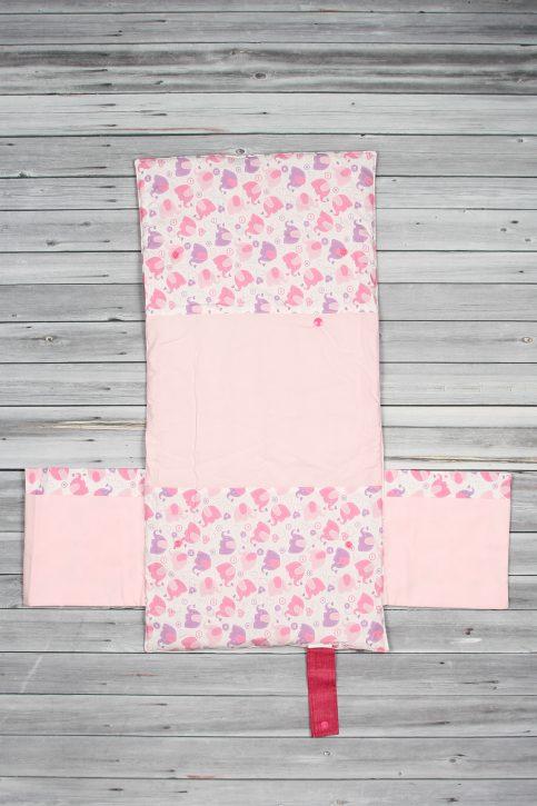 tapis à langer éléphant rose (2)