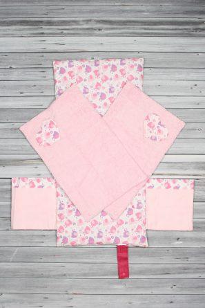 tapis à langer éléphant rose (3)