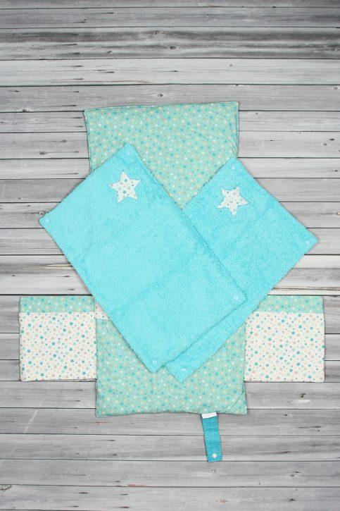 tapis à langer étoiles bleu (3)