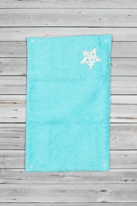 tapis à langer étoiles bleu (5)