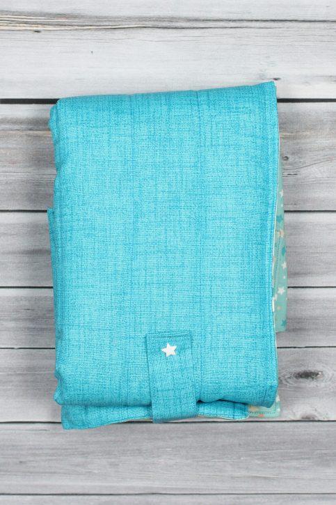 tapis à langer étoiles bleu (7)