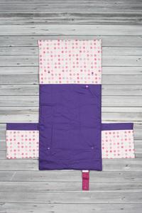 tapis à langer étoiles violet (3)