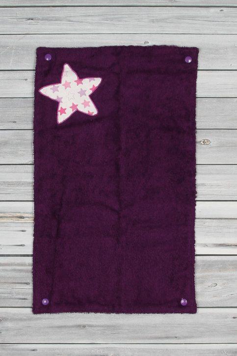 tapis à langer étoiles violet (4)