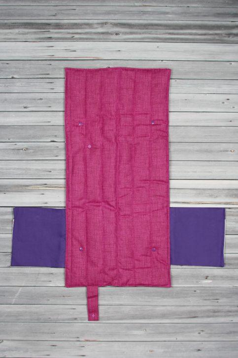 tapis à langer étoiles violet (6)