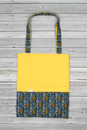 tote bag jaune bleu (1)