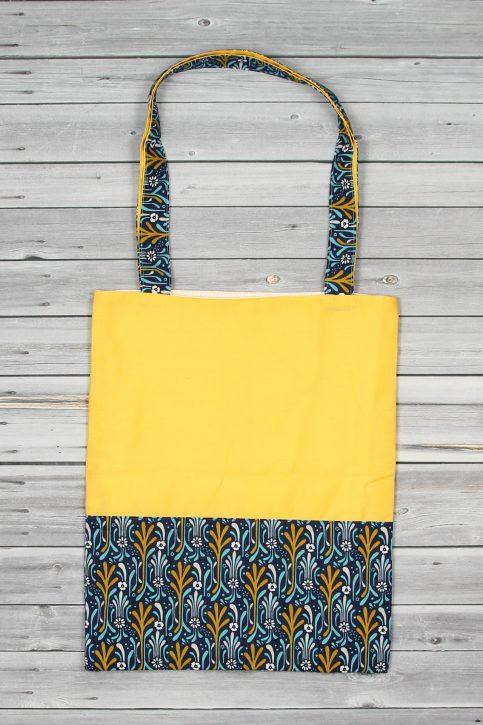 tote bag jaune bleu (2)