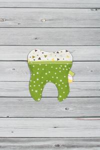 pochette à dent verte (1)