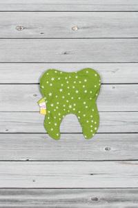 pochette à dent verte (2)