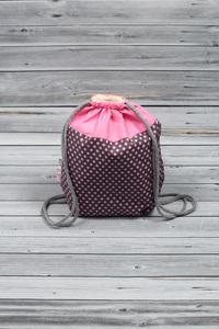 sac à dos lapin rose (2)